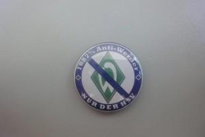 1887 % Anti Werder Button