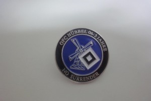 5 Jahre HSV Fanclub Nübbel - Button