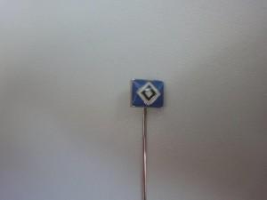 Anstecknadel HSV-Raute klein blau (3)