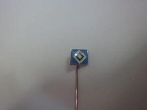 Anstecknadel HSV-Raute klein hellblau (2)