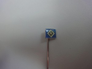 Anstecknadel HSV-Raute klein hellblau (3)