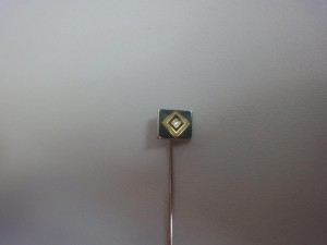 Anstecknadel HSV-Raute klein hellblau