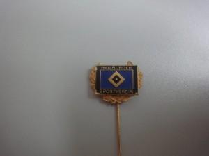 Anstecknadel Hamburger Sportverein mit goldenem Kranz