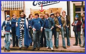 Ausfährtsfahrt zum Super-Cup-Finale 1977 Liverpool