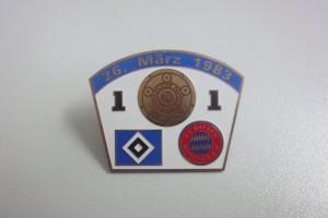 Bundesliga 1982-1983 HSV - Bayern München