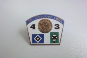 Bundesliga 1982-1983 HSV - Borussia Mönchengladbach
