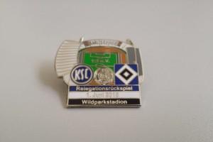 Bundesliga 2014-2015 Relegation Karlsruher SC - HSV blau weiß schwarz