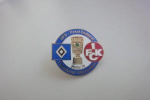 DFB-Pokal 1975-1976 Finale HSV - FC Kaiserslautern