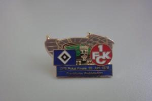 DFB-Pokal 1975-1976 Finale HSV - FC Kaiserslautern Frankfurter Waldstadion