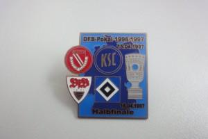 DFB-Pokal 1996-1997 Halbfinale Begegnungen