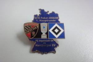 DFB-Pokal 2008-2009 1. Runde FC Ingolstadt - HSV dunkelblau