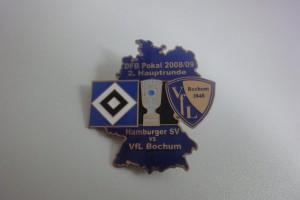 DFB-Pokal 2008-2009 2. Runde HSV - VfL Bochum dunkelblau