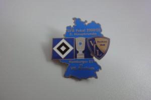 DFB-Pokal 2008-2009 2. Runde HSV - VfL Bochum hellblau