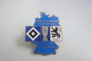 DFB-Pokal 2008-2009 Achtelfinale HSV - TSV 1860 München blau