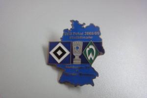 DFB-Pokal 2008-2009 Halbfinale HSV - Werder Bremen blau