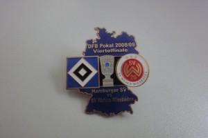 DFB-Pokal 2008-2009 Viertelfinale HSV - Wehen Wiesbaden dunkelblau