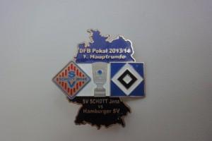 DFB-Pokal 2013-2014 1. Runde SCHOTT Jena - HSV