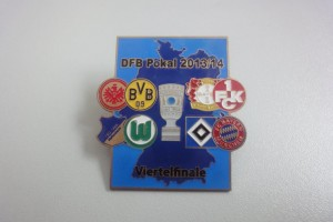 DFB-Pokal 2013-2014 Viertelfinale Begegnungen