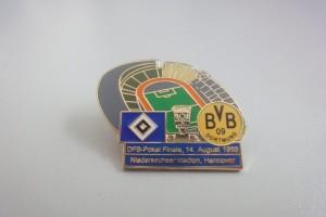 DFB-Pokal Finale 1963 HSV - Borussia Dortmund blau