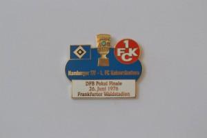 DFB Pokal Finale 1976 HSV-FC Kaiserslautern