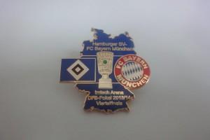DFB-Pokal Viertelfinale 2014 HSV - FC Bayern