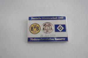 Deutsche Meisterschaft 1957 Borussia Dortmund-HSV