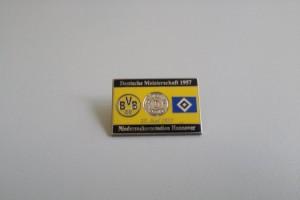 Deutsche Meisterschaft 1957 HSV-Borussia Dortmund