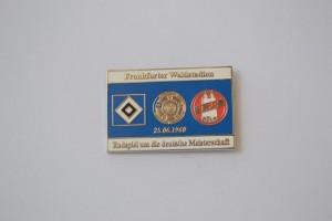 Deutsche Meisterschaft 1960 HSV-FC Köln