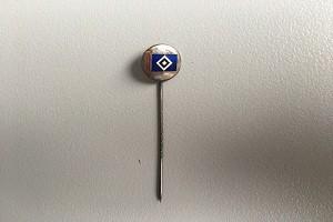 Ehrennadel HSV-Fahne silber (1)