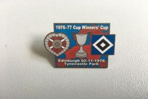 Europapokal 1976-77 Midlothian-HSV