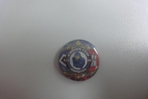 HSV Button - Chosen Few Hamburg