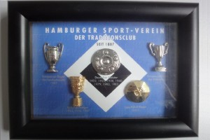 HSV Erfolge eingerahmt