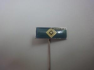 HSV Raute Saison 1990-1991 Anstecknadel