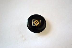 HSV Raute schwarz rund