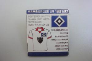 HSV Saison 1981-1982