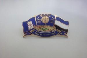 HSV - Sechsmal deutscher Meister blau