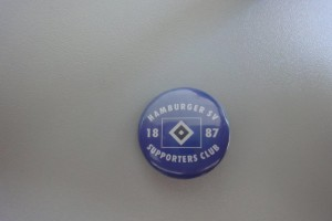 HSV Supporters Club Button