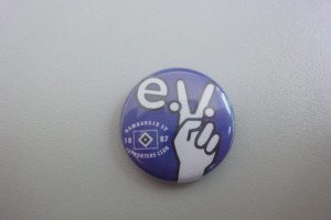 HSV Supporters Club - e.V. Button