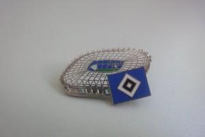 HSV Volksparkstadion silber