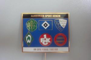 HSV im DFB-Pokal 1987-1988