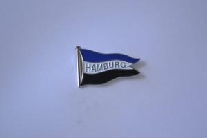 Hamburg Fahne Blau weiß Schwarz