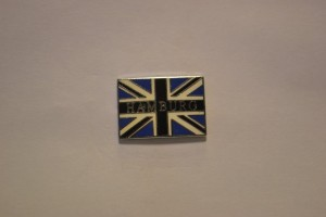 Hamburg Fahne Union Jack klein
