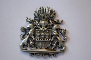 Hamburg Wappen silber