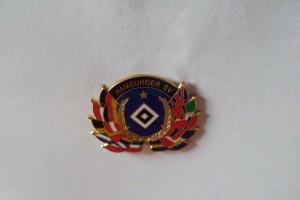 Hamburger SV -Ehrenkranz Fahnen