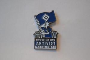 Hamburger Supporters Club Aktivist 2008-2009