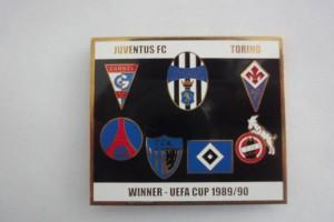 Juventus Turin im UEFA Cup 1989-1990