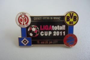 Ligatotal Cup 2011 blaue Ränder