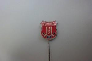 Schlagschuss HSV Fan-Club Anstecknadel