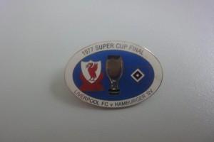 Super Cup Finale 1977 FC Liverpool - HSV