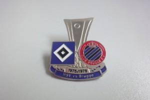 UEFA Cup 1975-1976 Halbfinale HSV - FC Brügge